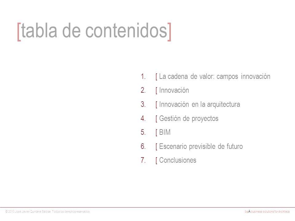[tabla de contenidos] [ La cadena de valor: campos innovación